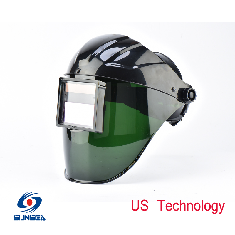 2016 New Design Unique Solar Auto darkening welding Helmet electric Mask Big View tig,mig , arc welding face shields Masks