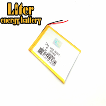 лучшая цена 3.7V 5000mAH (polymer lithium ion battery) Li-ion battery for tablet pc 7 inch 8 inch speaker [457992]