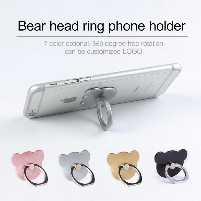 Dedo anillo para teléfono móvil soporte para smartphone para iPhone X 5X5 6 6S 7 7 8 Plus teléfono inteligente soporte de montaje para samsung caso Huawei