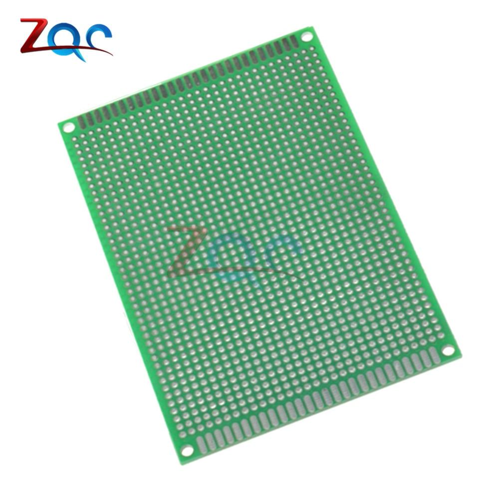 8X12 Cm Double-Side Copper Prototype PCB 8*12 Cm Universal Board For Arduino