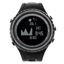 Top Deals SunRoad FR830 Waterproof Men Outdoor Sports Barometer TIDE Watch Men Wristwatch