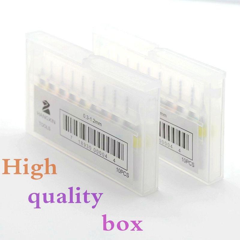 PCB-boorset 2.05-3.175mm hardmetalen boor CNC-freesmachine houtboor - Boor - Foto 6