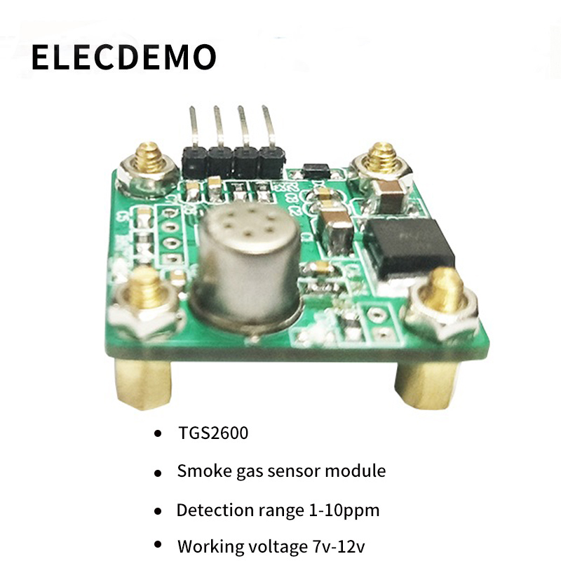Image 1 - TGS2600 Module smoke sensor module Alcohol cooking gas detection Serial voltage data output  Function demo board-in Demo Board Accessories from Computer & Office
