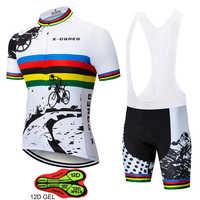 X-CQREG Jerseys de Ciclismo para Hombre 2018 rupas Ropa Ciclismo Hombre MTB Maillot Ciclismo/Ropa de bicicleta de carretera de verano equipe