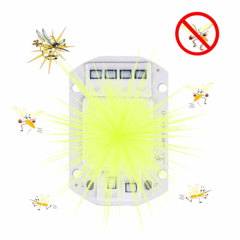 Electronic Mosquito Killer lamps Repellent Light Outdoor Indoor Green Color anti Mosquito Trap Lamp Camping Fishing Night Lamp