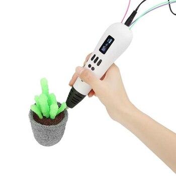 3D Printing Pen1.75mm ABS/PLA Filament support  drawing pen DIY 3D Printer Pen for children  Christmas Presents