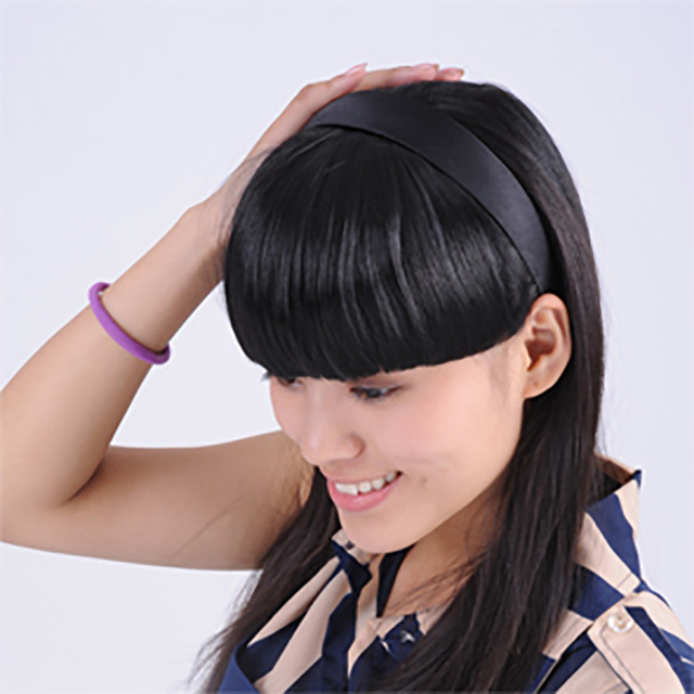 Hot Sale Women Korea Style Hair Accessories Synthetic Jewelry Clip In On Seamless Cute