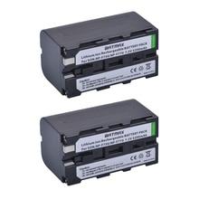 5200mAH 2Pcs NP-F750 NP-F770 NP F750 NP F770 Battery For Sony CCD-TR917 CCD-TR940 CCD-TRV101 CCD-TRV215 CCD-TRV25 CCD-TRV36