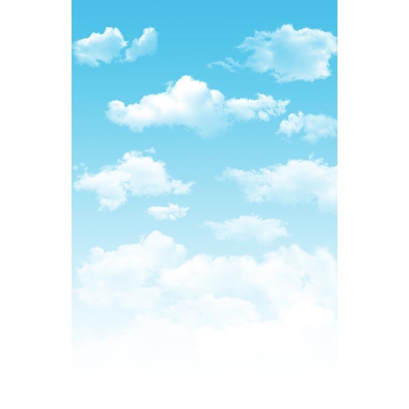Photographic background Hazy blue sky and white clouds newborn photography lovely princess interesting  L-261 blue sky чаша северный олень