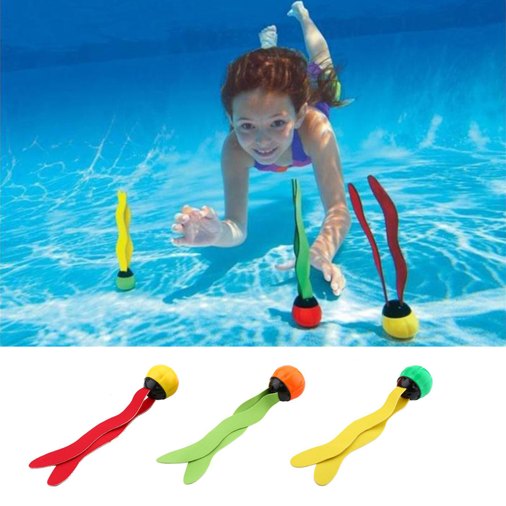 1Pcs Swimming Pool Diving Toys Children Underwater Game Props Seaweed Swimming Pool Accessories