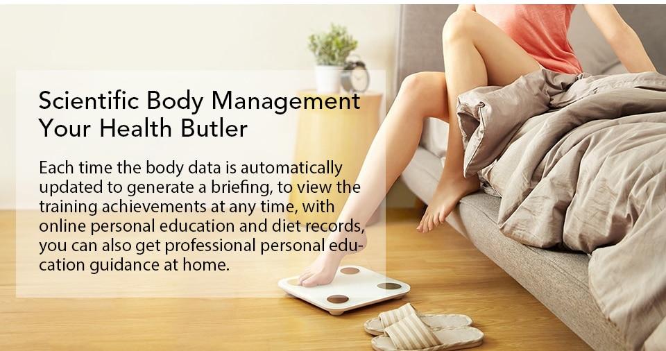 Xiaomi YUNMAI Fat Scale Mini 2 Balance Smart Body Fat Scale Smart Data Analysis APP Control Digital Weighing Tool Xiomi Xaomi (5)
