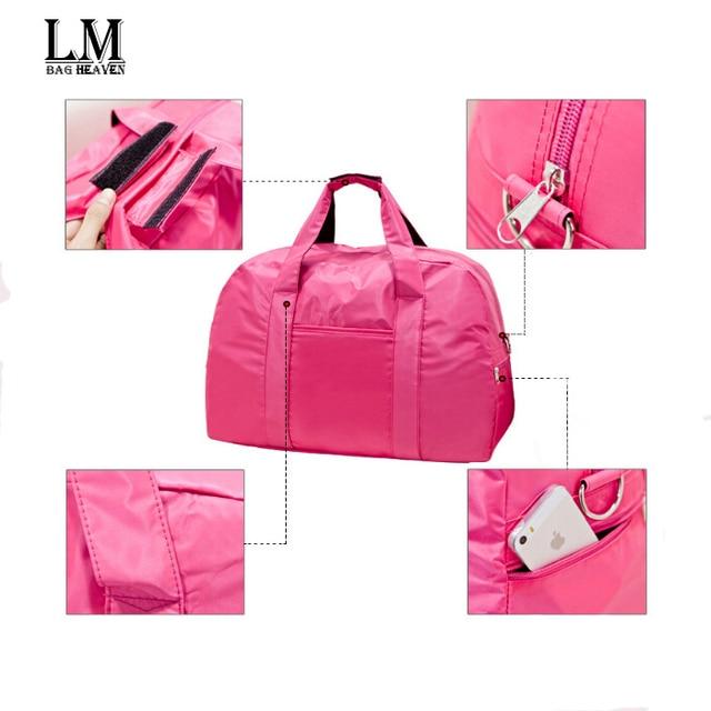 Ladies Deporte moda 2015 grande Bolsas De nueva Pink gimnasio Marca PIwxATf