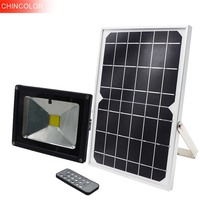 Chincolor солнечные батареи спинер светильник дистанционного управления синхронизации Солнечная Светодиодные лампы Открытый настенный лампа,