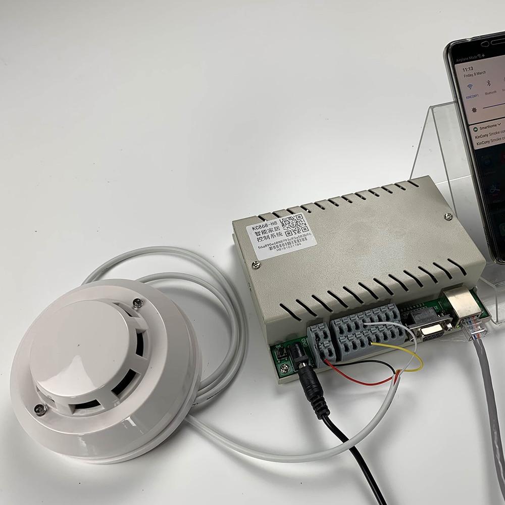 Gas leaking Alarm Sensor Detector LED Flash Sound Propane Butane LPG for kc868-h8 h32 smart home control system