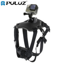 PULUZ Hound Dog Fetch Harness Adjustable Chest Strap Mount for GoPro NEW HERO Action Cameras