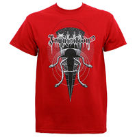 OKOUFEN Authentic INQUISITION Mystical Blood Black Metal T Shirt Red S M L XL 2XL NEW