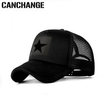 CANCHANGE Mode Marke Baseball Kappe Frauen Baseball Hut Atmungsaktiv Männer Frauen Sommer Mesh Cap Baseball Caps Gorras Dropshipping(China)