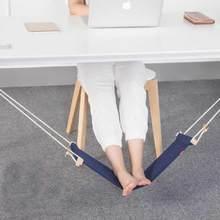 Новые творческие стопы гамак бизнес ленивый ноги pad 3 вида цветов мини-офиса подставка для ног подставка настольная Лидер продаж ноги гамак Прямая доставка