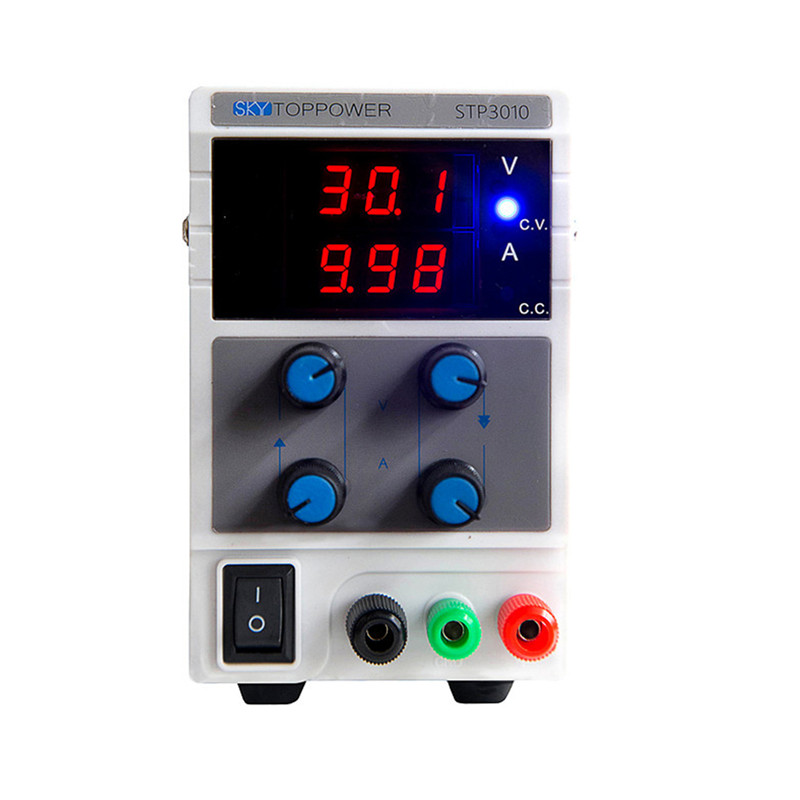 STP 110/220V Rework Station Mini Switching Regulated Adjustable DC Power Supply 30V 10A Variable power supply STP3010 0 30v 0 20a output brand new digital adjustable high power switching dc power supply variable 220v