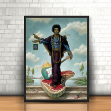 Michael Jackson By	Mark Ryden Canvas Posters Prints Wall Art Painting Decorative Picture Modern Home Decoration Accessories HD