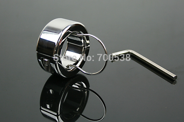 300g Testicle Balls Scrotum Pendant Ball Stretchers Cock Ring Locking Real Men CBT Sex Product