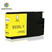 hp officejet Compatible Ink Cartridge Replacement For HP 932 XL 933 XL for Officejet 6100 6600 6700 7110 7510 7610 7612 Printers (4)