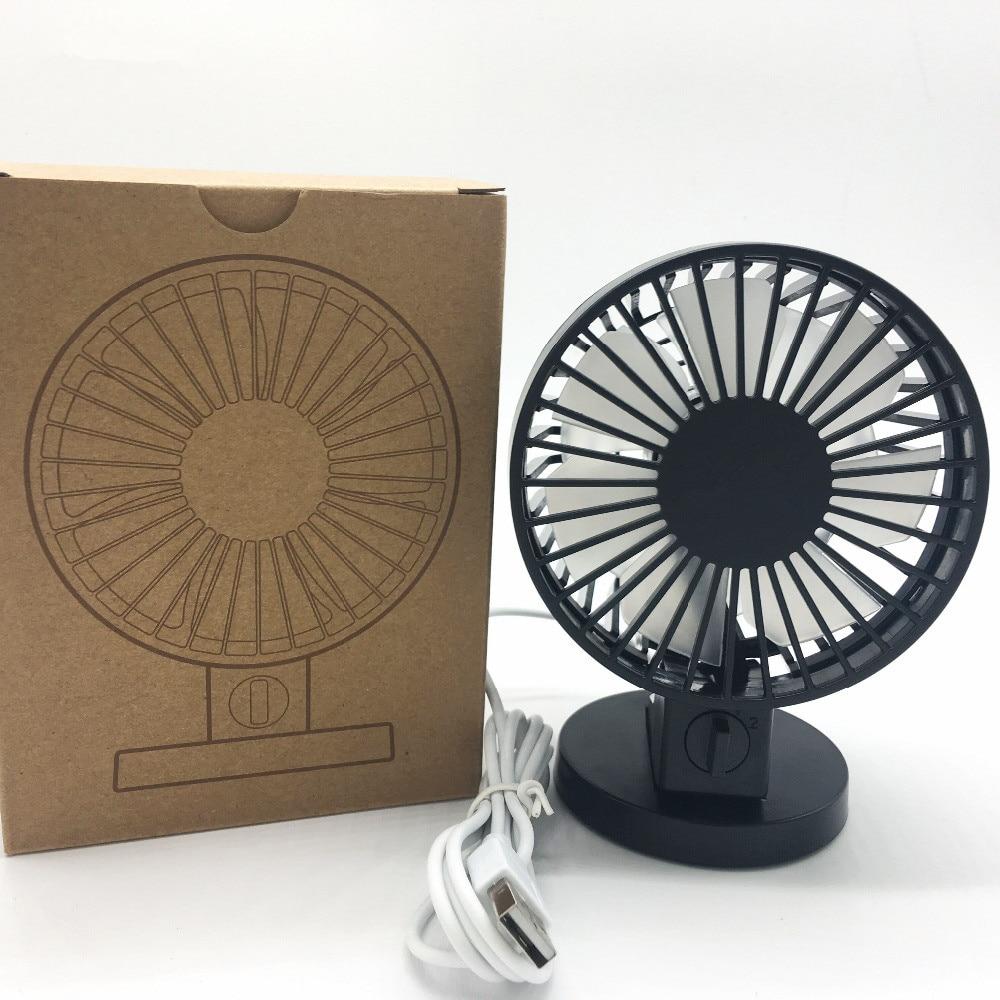 Portable Mini USB Fan Fan Kreatif Home Office ABS Peminat Elektrik - Perkakas rumah - Foto 2