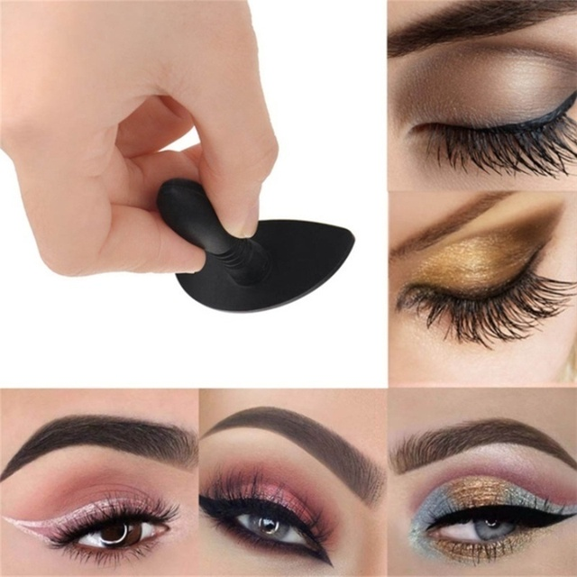 1 Pc Lazy Silicon Eye Shadow Stamp Eyeshadow Stamp Glittering Lazy Applicator Silicon Eyeshadow Seal Makeup Tools 5