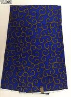 2016 African Wax Fabric High Quality Nigerian Ankara Fabric Real Printed Wax For Traditional Big Occasion