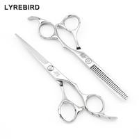 Professional Hair Scissors 5 5 INCH Or 6 INCH Silvery LYREBIRD HIGH CLASS Bearing Pivot Anti