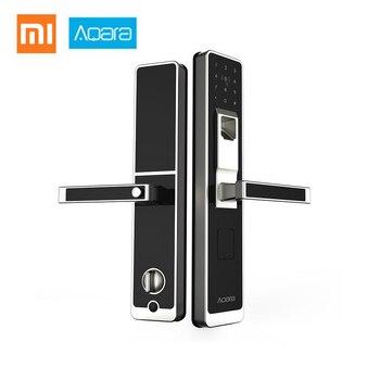 Aqara Smart WiFi Fingerprint Smart Door Electronic Lock Unlock Password App Control for Home Security