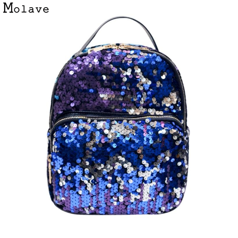 Naivety Sequins Women Backpack Fashion School Style Shoulder Bag Cool Travel Satchel Purse 28S7517 drop shipping