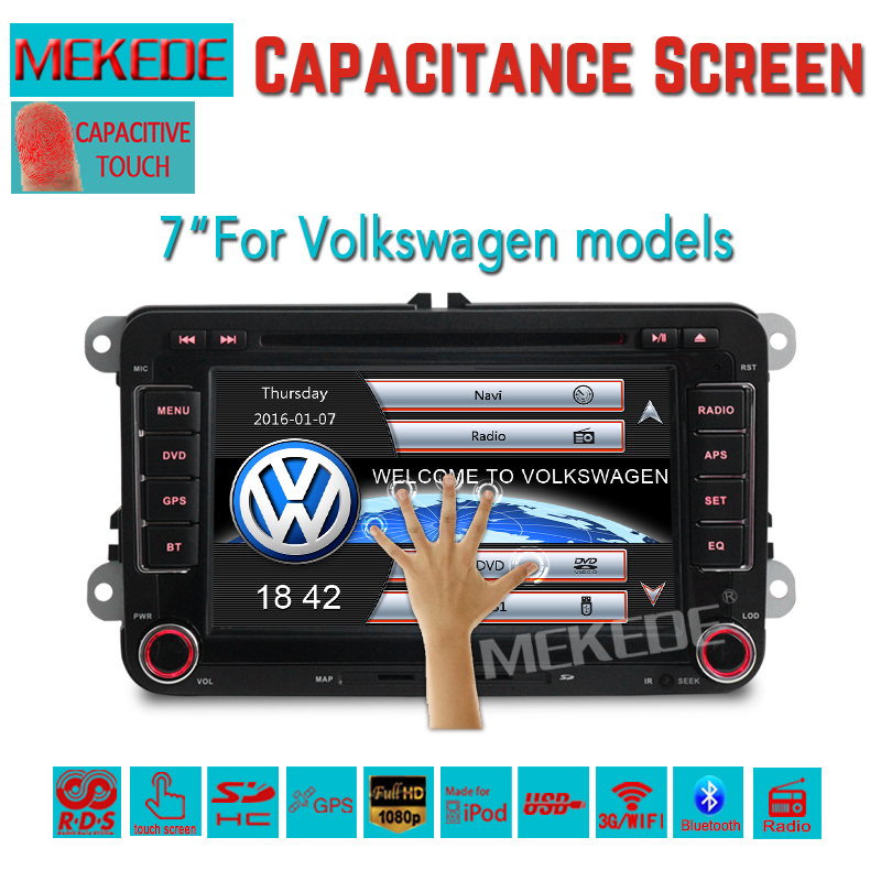 Factory sales promotion speical font b Car b font DVD 7inch screen for VW and skoda