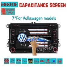 Promoción de ventas de la fábrica!! speical Coche DVD pantalla de 7 pulgadas para VW y skoda series coche con DVD, RADIO, GPS, BT, USB, 3G/WIFI + free