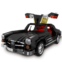 03007 03011 MOC LegoINGLYs Technic Series Building Block Super Racing Car Legoing Compatible Blocks Model Toys For Children