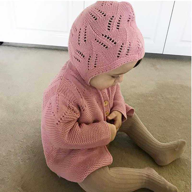 2020 Brand Baby Girl Cardigan Children Clothes Autumn Knitted Infant Toddler Baby Cotton Coats Cute Newborn Baby Outerwear