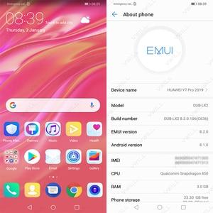 Image 3 - Global Rom Huawei Enjoy 9 huawei Y7 PRO 2019 Mobile Phone Snapdragon 450 Octa Core 6.26 inch 13MP AI Dual Camera 4000mAh
