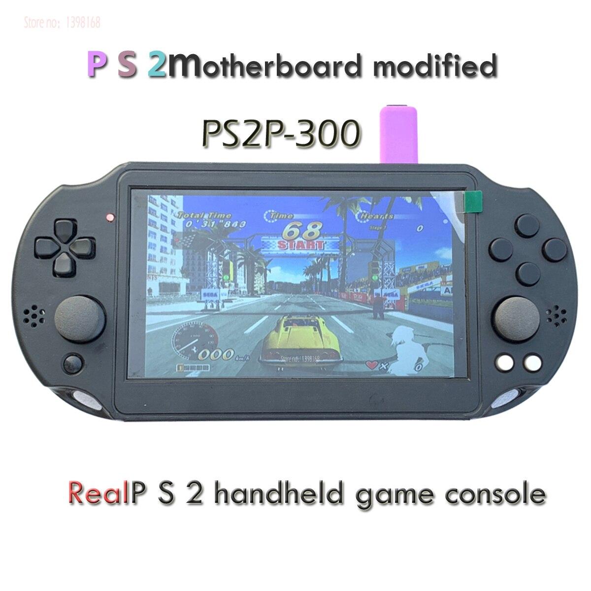7 pouces IPS pour P/S2 Portable Arcade Player Collection/modifié par P/S2 carte mère pas simulateur Double joystick modèle: PS2P-300