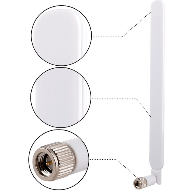 5dBI SMA Male external router antena 4G LTE antenna WIFI 3G antenne for HuaweI modem router 4G wireless modem lte repeater