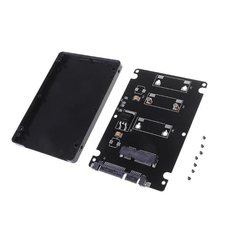 Computer & Büro Add-on Karten 1 Pc 7 Mm Dicke Mini Pci-e Msata Ssd Zu 2,5 sata Festplatte Konverter Adapter StraßEnpreis