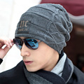 New Fashion Hat Female Thick Cotton Knitted Hip Hop Brand High Quality Warm Men Women'S Winter Hats Beanies Skullies