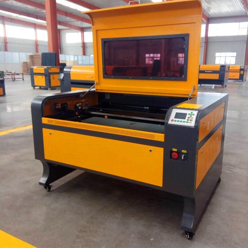 Il trasporto libero 1080 150 w ruida Co2 incisione Laser con, macchina per marcatura laser, macchina di scultura CNC laser incisore