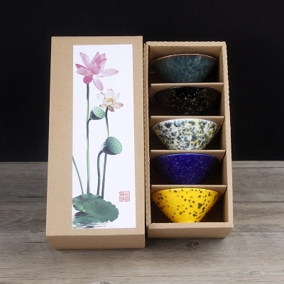 Dehua four devient Kung Fu ensemble de thé ensemble complet de style chinois en céramique Simple maître tasses unique tasse petit bol à thé