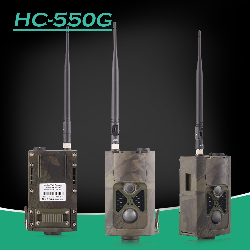 HC550G Hunting Camera 3G GSM GPRS MMS SMTP/SMS 16MP 1080P Wildlife Trail Cameras HC-550G for hunting trail game camera виниловая пластинка pet shop boys fundamental remastered