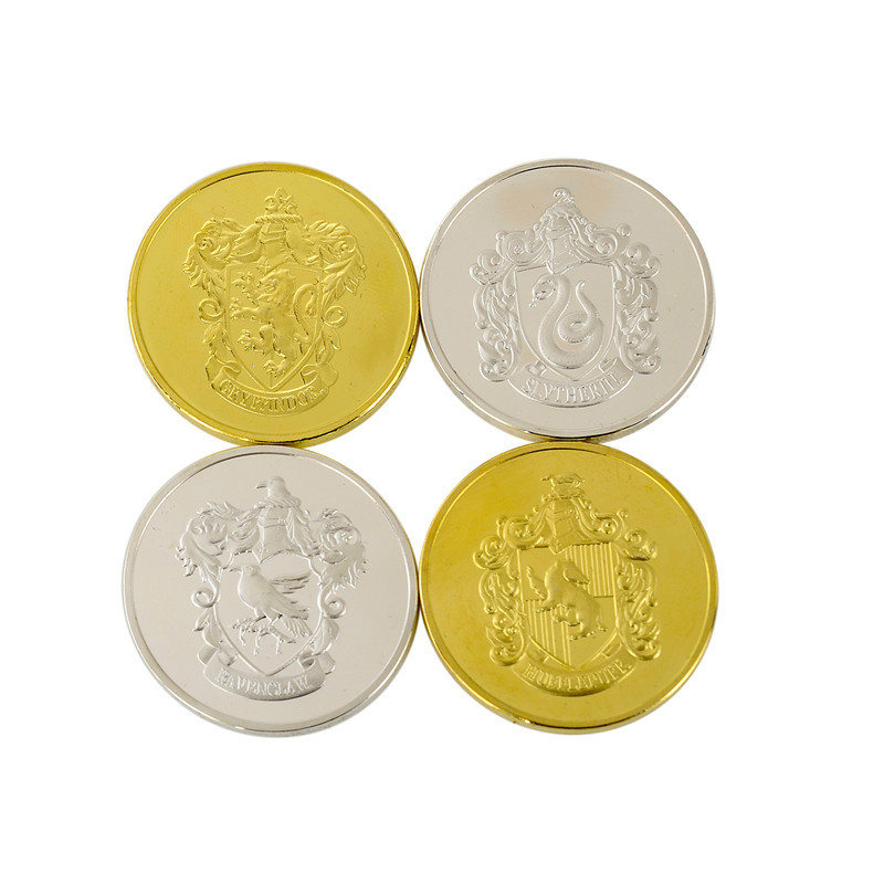 Hot Sale Ainiel Potter Gringotts Bank Coin Collection Wizarding World Hogwarts Exquisite High Quality Christmas New Year Gift