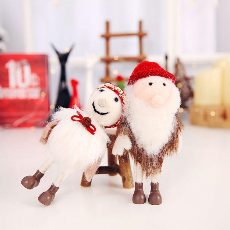 Old Man Christmas Gifts: Felt Snowman Old Man Doll Christmas Ornament Christmas