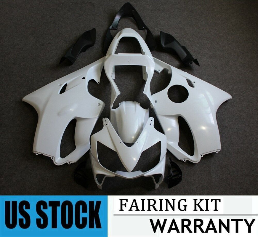 ZXMT Fairing Bodywork Kit for HONDA CBR600 F4I 2001-2003 Unpainted ABS Injection Mold UV light curing paint