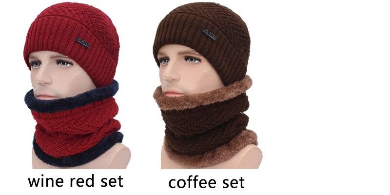قبعات مع وشاح للرجال 12