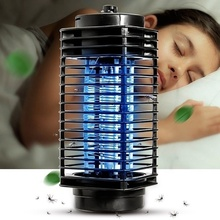 Super Trap Electric Photocatalyst Mosquito Pest Fly Bug Insect Wasp Killer Mosquito Repellent Night Lamp LED US/EU Plug