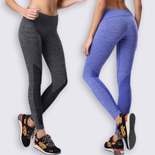 Running Pants Trousers Yoga Workout Clothes Sport Slim Fitness Sports Women Gym Lulu High Waist Clothing Leggings For Female